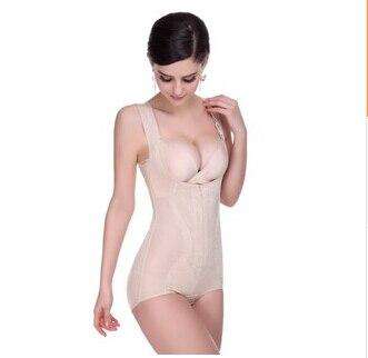 1fb5b933e5e13 Lady Shapewear Beautiful Lace Skin Colour Body Shaper For Women Girl Party  Underwear Zipper Shapewear Ultrathin Corsets  2609