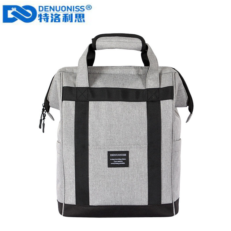 DENUONISS Extra Large And High Thickening Cooler Bag Ice Pack Insulated Fresh Food Delivery Container Cooler Backpack