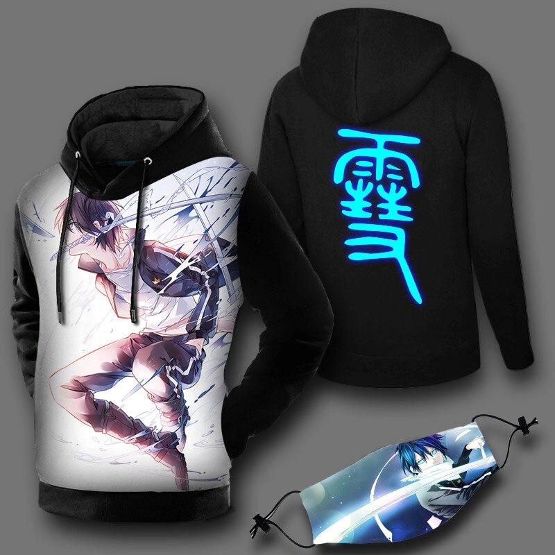 Noragami Aragoto Stray Dieu À Capuche Anime Yato Dieu Cosplay Bande Dessinée Pull Mignon Shirts Japonais Fans de Bande Dessinée