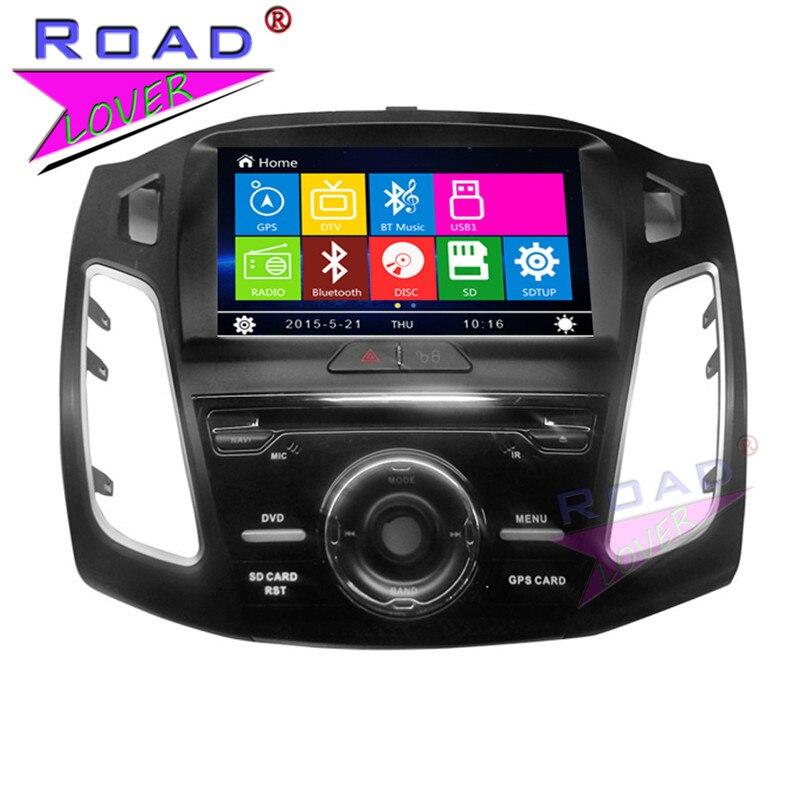 TOPNAVI Wince 6,0 9 дюймов двойной Din автомобильных мультимедийных DVD плеер для Ford Focus 2012 стерео gps Navi авто радио Magnitol BT USB