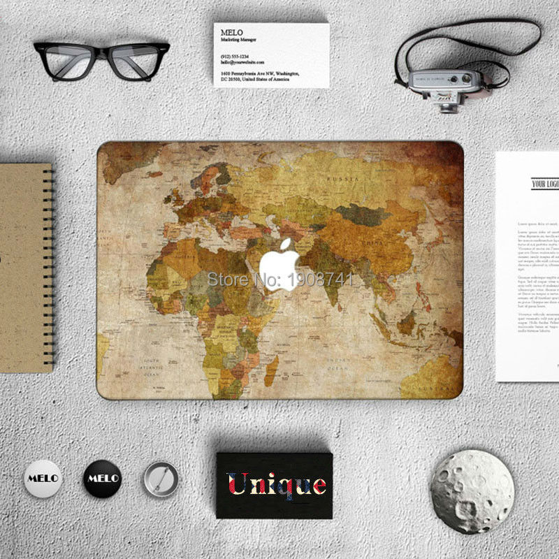 Map of the world laptop sticker map of the world laptop sticker unique world map positive front cover decal laptop skin for gumiabroncs Gallery