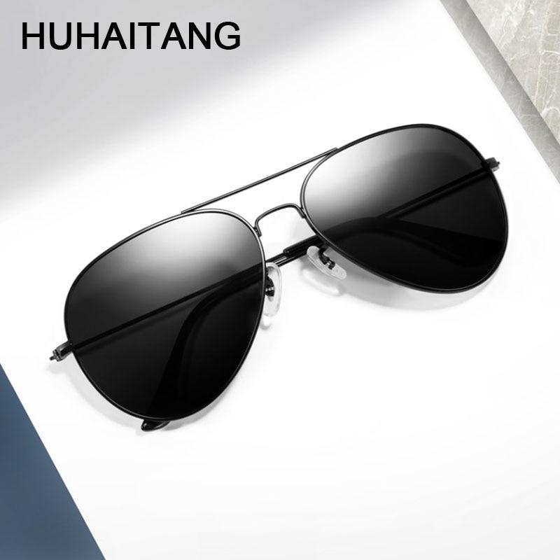 HUHAITANG Classic Aviation Mens Sunglasses Women Luxury Brand Pilot Sun Glasses Designer High Quality Sunglases For Womens