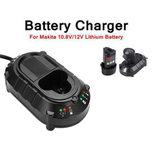 New Makita lithium battery BL013 power tool Charger For Bl1013 Df330D Lithium-Ion Batteries Dc10Wa