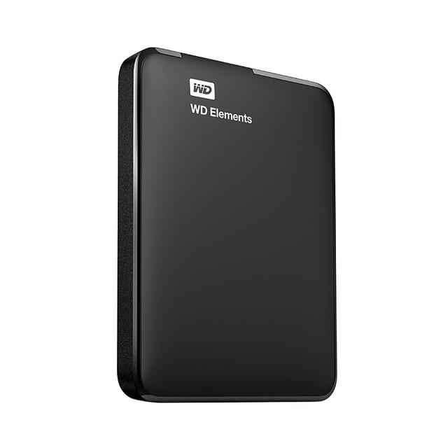 WD Elements Portable External hd Hard Drive Disk 500GB 1TB 2TB 3TB 4TB USB 3.0 Original for Computer laptop Western Digital 500g