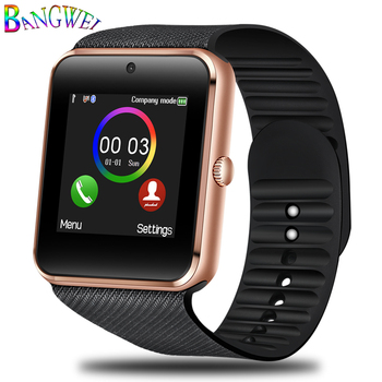 BANGWEI Brand Smart Watches Mens Fitness Sport Smart watch Support SIM TF Card Bluetooth information reminder electronic clock