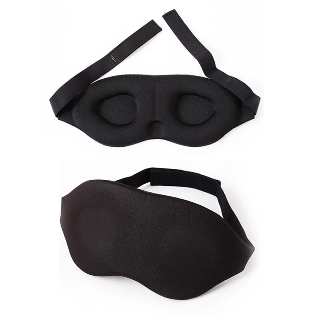 New 3D Eye Mask Soft Memory Foam Padded Sleep Travel Shade Cover Rest Relax Sleeping Blindfold sex game -20 image