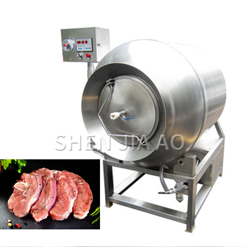 2250W electric meat tenderizer Improving meat quality Meat Pickled Processing Vacuum Tumbler Machine Kitchen 380V/220V TM 200|Food Processors| |  - title=