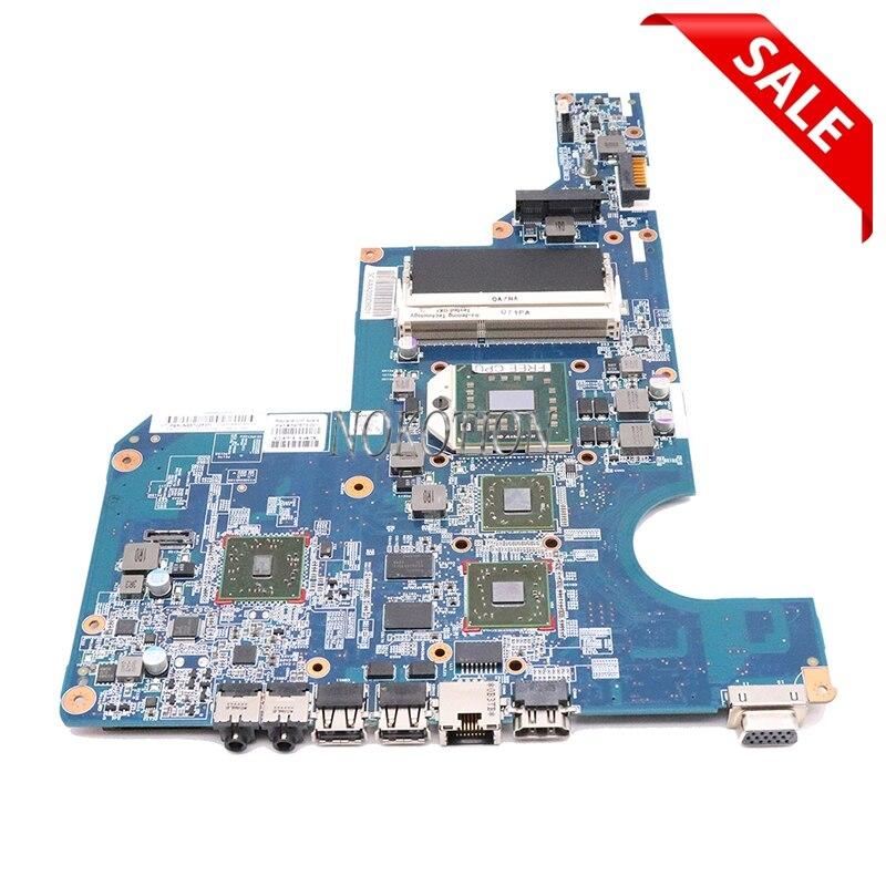 NOKOTION 597673-001 материнская плата для ноутбука hp G62 CQ62 материнская плата Socket S1 DDR3 HD4500 протестированная ЦП работает