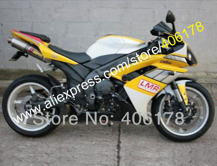 Hot Sales,Injection <font><b>fairing</b></font> for <font><b>YAMAHA</b></font> 2007 <font><b>2008</b></font> YZF-<font><b>R1</b></font> 07 08 YZF <font><b>R1</b></font> YZFR1000 Yellow lmr Moto <font><b>Fairings</b></font> kit (Injection molding) image