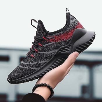 Outdoors men sneakers Trainer Breathable Mesh men's sports running shoes for adults Classical Joker four seasons athletic shoes