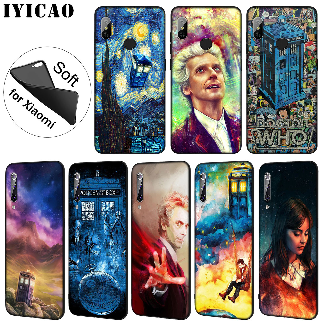 Cellphones & Telecommunications Objective Iyicao Tardis Box Doctor Who Soft Silicone Phone Case For Xiaomi Mi 9 8 A2 Lite A1 6 6x Pocophone F1 Max 3 Mi9 Mi8 Mia2 Cover High Quality And Low Overhead Phone Bags & Cases