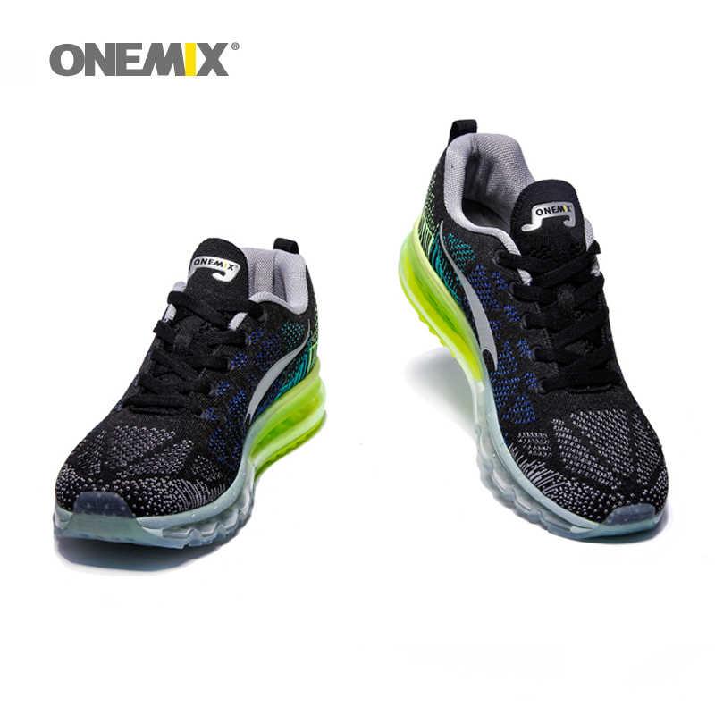 ONEMIX/мужская спортивная обувь для бега с воздушной подушкой; сетчатые трикотажные кроссовки для тенниса; спортивная обувь для мужчин; обувь для прогулок и бега; Tn