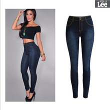 American Apparel Hot Sale Cotton Light Jeans For Women Fall 2016 New Large Size Womens Skinny Jeans Free Shipping Packages Arm