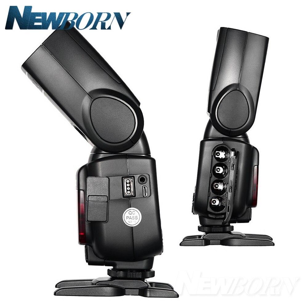 Godox TT685C TTL Cámara Flash 2,4 GHz Alta Velocidad 1/8000s GN60 + Xpro-C TTL transmisor inalámbrico para cámara Canon Eos + regalo - 5