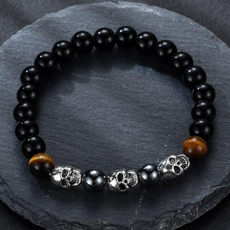 Schlankheits-cremes Schönheit & Gesundheit Mode Stil 7 Chakra Healing Perlen Armband Natürliche Lava Stein Armband Schmuck Yoga Perlen Vintage-schmuck FüR Schnellen Versand