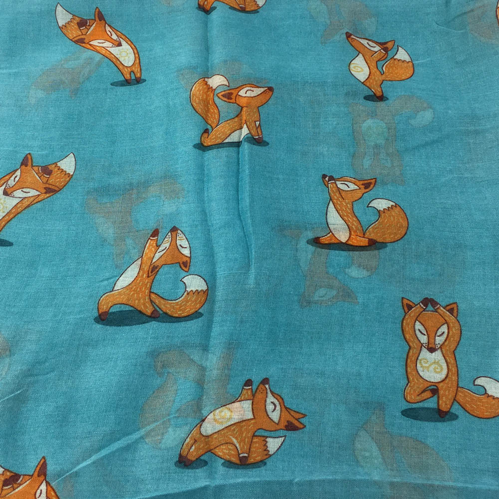 Women Printing Long Soft Paris Yarn Scarf Wrap Shawl Stole Pashmina Scarves Paris yarn High quality and fashion printing scarf