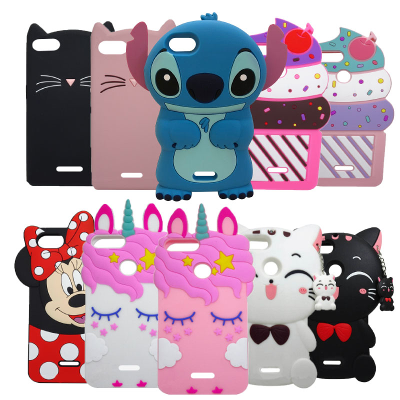 For <font><b>Xiaomi</b></font> <font><b>Redmi</b></font> 6 <font><b>6A</b></font> Case Unicorn Cupcake Cat Cartoon Soft Silicon Case Cover for <font><b>Xiaomi</b></font> <font><b>Redmi</b></font> <font><b>6A</b></font> 6 A 5.45 inch Phone Fundas image
