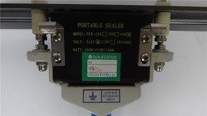 Image 4 - FKR 400 Dubbele Heatting Sealer, Baterpak Thee Papier Folie Film Zak Plastic Lassers, Band Sealer, kraftpapier Zak Warmte Sealer