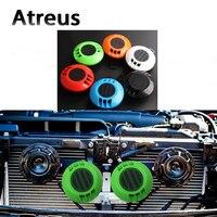 Atreus 2pcs Car styling Sticker Electric Loud Blast Tone Horn For Lexus Honda Civic Opel astra h j Mazda 3 6 Kia Rio Ceed Volvo