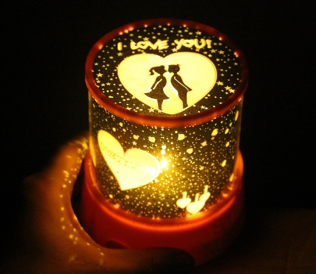 Star Light Projector Night Rotating Creative Romantic Surprise Birthday Gift To Send His Girlfriend Marry Him Conf