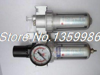 SFC-400 PNEUMATIC AIR FILTER REGULATOR LUBRICATOR BSP