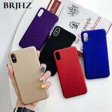 For Samsung Galaxy A50 Case Slim Candy Color Matte Hard PC Back Cover For Samsung Galaxy A50 A30 A10 A40 A60 A70 A80 A20E Case