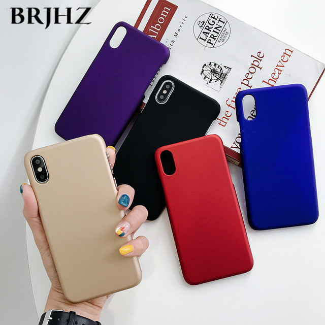 For Samsung Galaxy A50 Case Slim Candy Color Matte Hard PC Back Cover For Samsung Galaxy A50 A30 A10 A40 A60 A70 A80 A20E Case