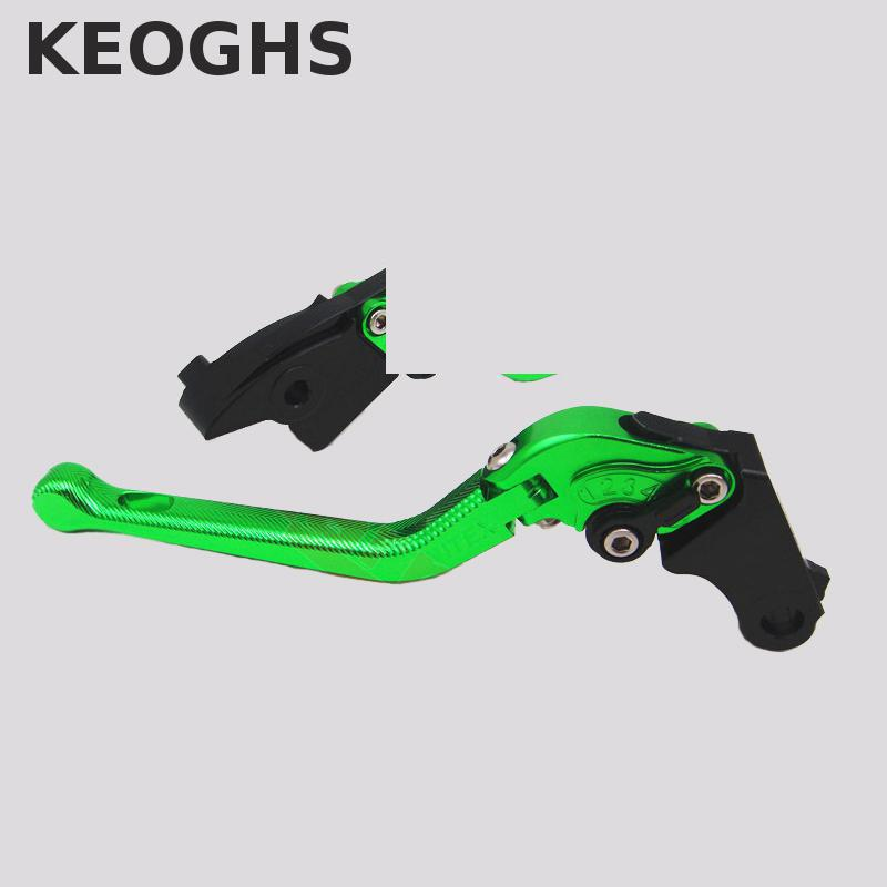 Keoghs For Yamaha Fz6 Fazer 3d Cnc Adjustable Brake Clutch Levers 9 Colors Free Shipping keoghs real adelin 260mm floating brake disc high quality for yamaha scooter cygnus modify