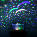 Magic Project Lamp Smart Dimmer LED Stars Stage Rotate Light Creative RGB Diamond Party Home Decor Lamp Kids Gift