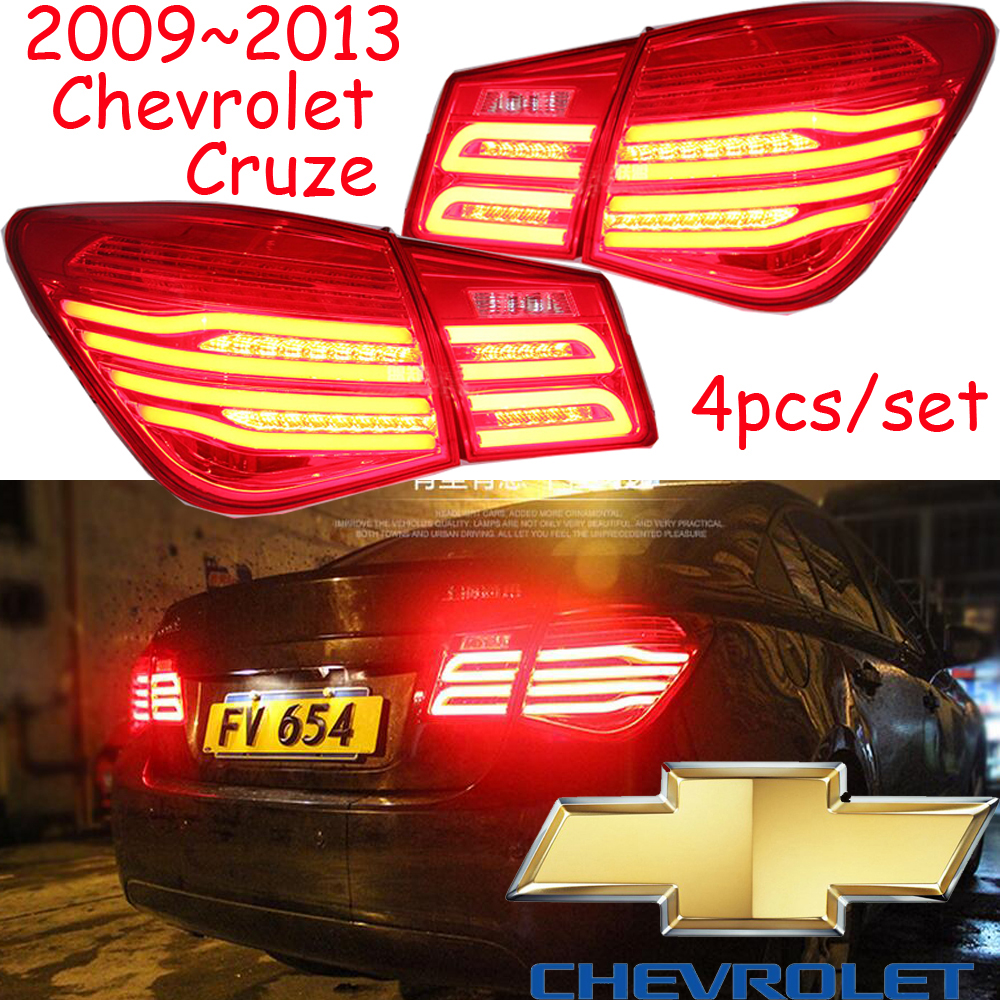 Cruz taillight,2009~2013,Free ship!LED,4pcs/set,Cruz rear light,Cruz fog light;Trax,Cruz