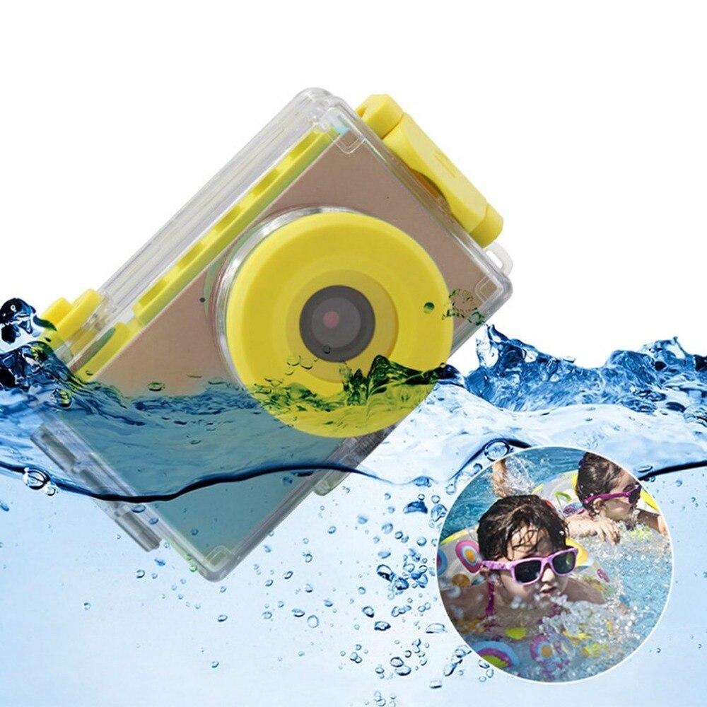 2.0 pouces 8MP 1080 P Mini caméra numérique caméra pour enfants mignon multi-fonction jouet caméra enfants pour le tir sous-marin