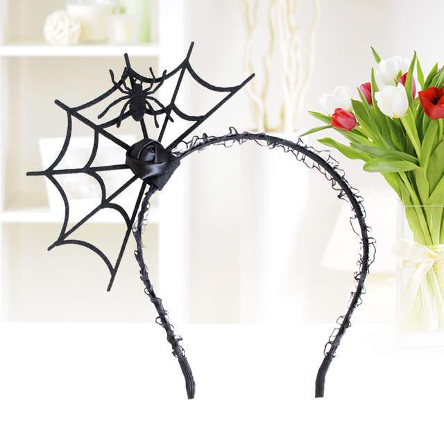 US $3.55 36% OFF|Halloween Headband Spider