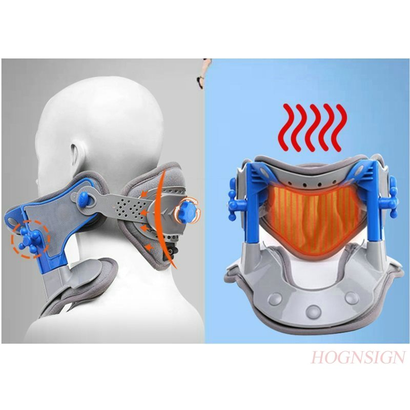 Vertebral Cervical Traction Device Home Stretcher Fixed Cervix Vertebra Correction Neck Stretch Medical Office Care Tool Men