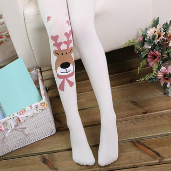 Cartoon Baby Tights for Girls Tiny Cottons Pantyhose Girl Warm Stockings Children Ballet Tights Kids Girl Clothing 2-9T tights