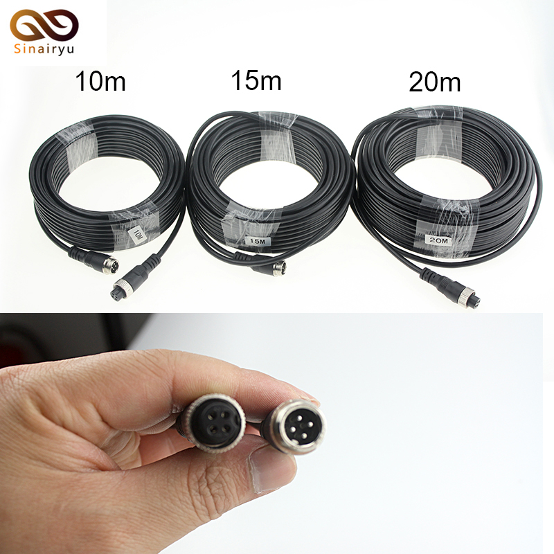 Car Camera 10M15M20M Car RCA Reversing Camera Video Cable Rear View Camera Video cable.