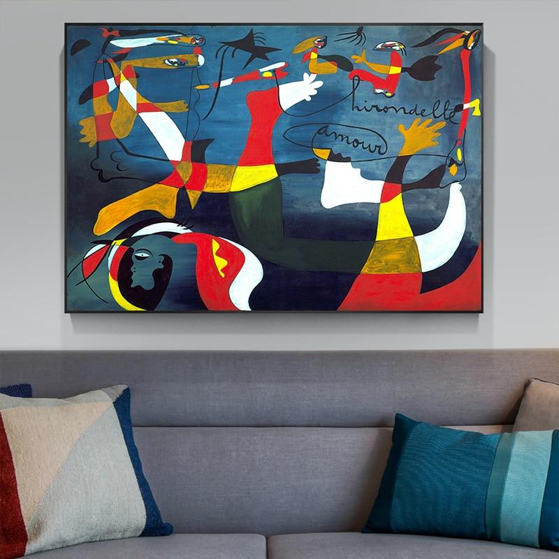 Pintura abstrata famosa