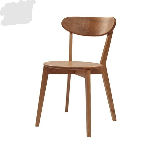 Cafe Chairs Home Furniture Oak Solid Wood Coffee Chair Dining Chair Chaise  Nordic Furniture Minimalist Modern