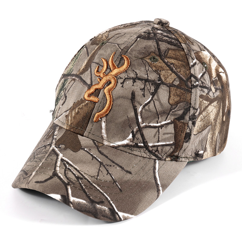 все цены на SAENSHING Browning Camouflage Cap Cotton Breathable Military Cap Tactical Baseball Caps Outdoor Brand Hat Fishing Hunting Caps