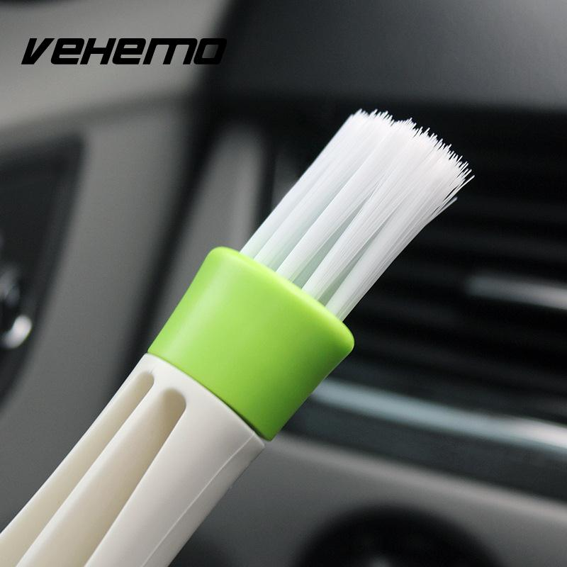 Car Vent Cleaner Tool PC Computer Keyboard Air Outlet Dust Cleaning Brush
