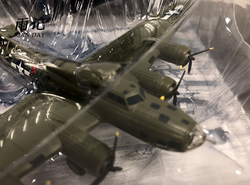 3pcs/lot Wholesale AMER 1/144 Scale Airplane Model Toys B-17F Flying Fortress B17 Bomber Fighter Diecast Metal Plane Model Toy