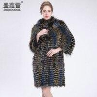 Custom fur coat, factory direct a variety of customer fur coats, fox fur coats, mink coat, size L 7XL