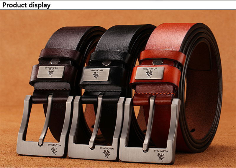 HTB19scHadzvK1RkSnfoq6zMwVXaq - NO.ONEPAUL buckle men belt High Quality cow genuine leather luxury strap male belts for men new fashion classice vintage pin