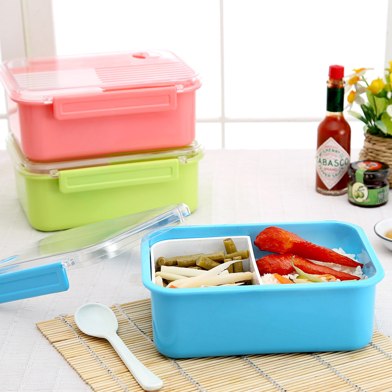 Container Store Lunch Box: Portable Lunch Box Capacity Camping Picnic Food Fruit