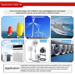 Image 4 - Uni T Wind Speed Meter UT363/UT363BT/UT363S Snelheid Temperatuur Digitale Thermometers Pocket Windmeters Houvast Gereedschap