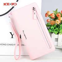Wallet Case Universal Cover For Elephone S2 S3 M2 M3 P6000 P7000 P8000 P9000 Vowney Luxury Long Zipper Women Wallet Purse