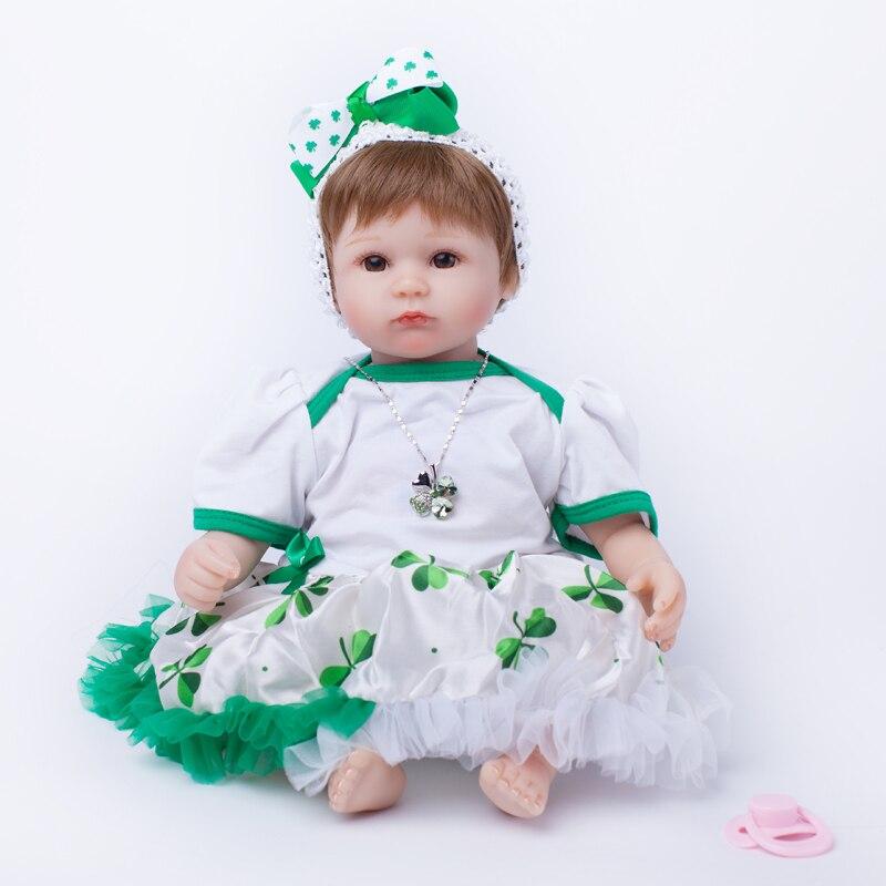 40 см силикона <b>Reborn Baby Doll</b> игрушка для Обувь для девочек ...