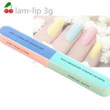 Пилочка для ногтей, Шлифовальная Пилка, артикул 6, Полировочная поверхность, маникюрный набор, печатная двухсторонняя шлифовка ногтей для начинающих