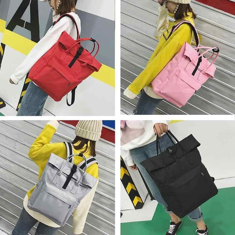 Парусиновая, в Корейском стиле рюкзаки женские путешествия ноутбук школьные сумки через плечо многофункциональный школьные сумки для подростков мальчиков и девочек