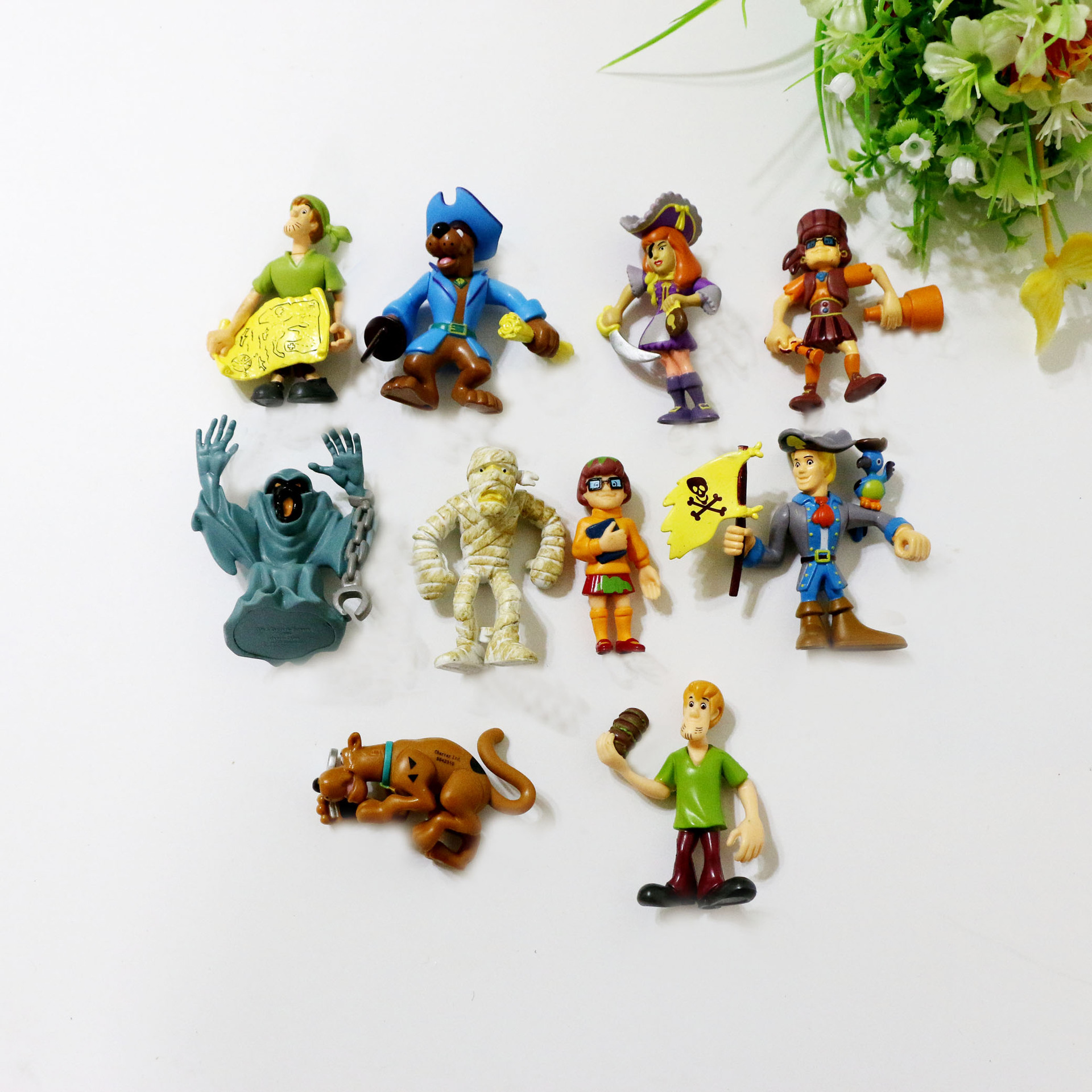 Doll Collection Action-Figure Animal-Model Classic Scooby-Doo Kids Cartoon PVC No 7--9cm