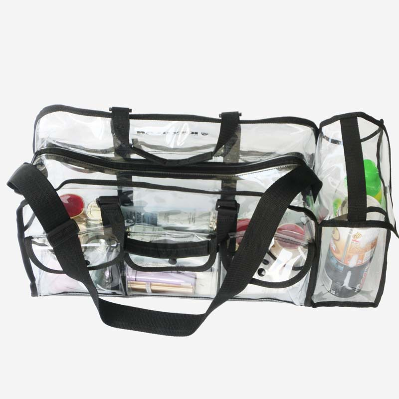 Freeshipping Clear Pvc Makeup Bag Material Jewelry Travel Organizer Cosmetic In Bags Cases From Luggage On Aliexpress